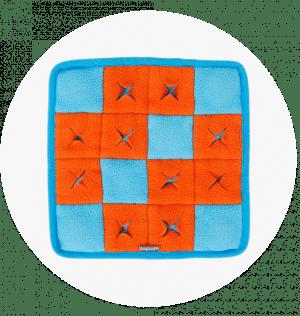 Zabawka węchowa - szachownica
