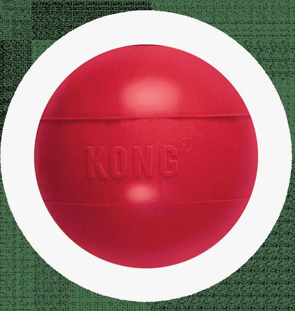 KONG Piłka z otworem na smaczki