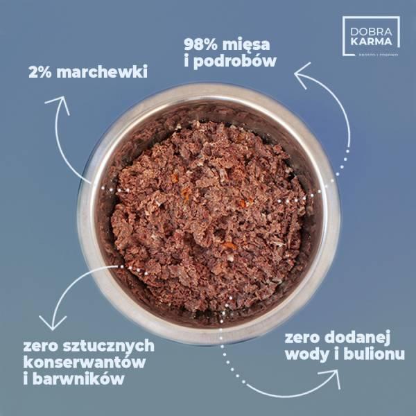 Wołowina 98% | marchew - 850 g