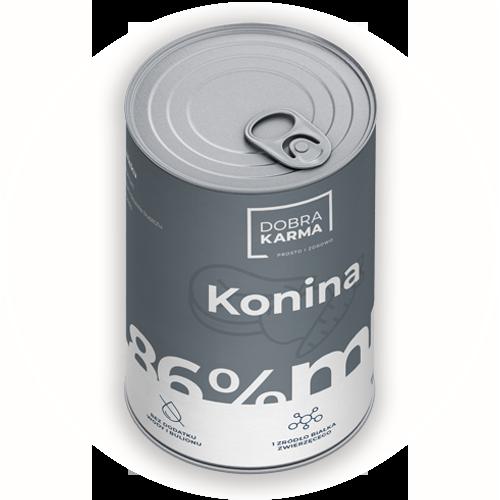 Konina 86% | marchew | jabłko 850 g